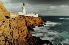 Misty Lighthouse