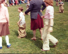 Image titled Milncroft School Sack Race 1980s