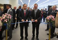U.N. Secretary-General Ban Ki-moon Opens World Wildlife Day Exhibit (US Mission Geneva) Tags: nature animals wildlife conservation un unitednations cites secretarygeneral bankimoon worldwildlifeday illegaltraffickinginwildlife