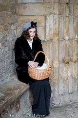 'HELEN MAE GREEN' - CHESTERFIELD 1940's / VINTAGE WEEKEND 22nd FEB 2014 (tonyfletcher) Tags: portrait fashion vintage model 40s tonyfletcher chesterfield1940s helenmaegreen