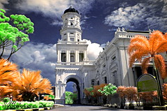 Masjid Sultan Abu Bakar, Johor Bahru (_Opit_) Tags: building history colors architecture mosque infrared masjid wowiekazowie