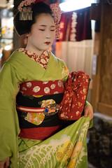 Maiko Hisamomo (cedphotos) Tags: japan kyoto maiko geiko geisha    gion pontocho