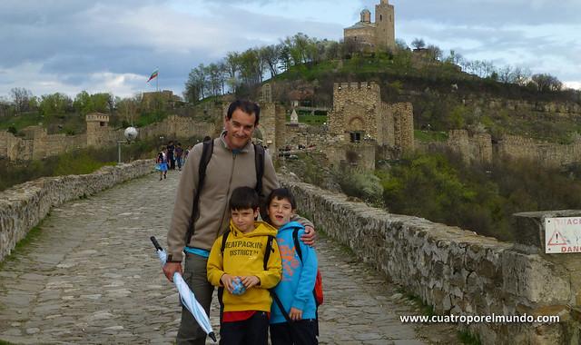 Camino de entrada de la fortaleza