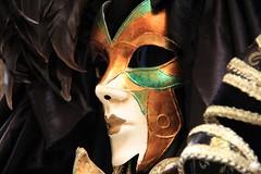 venetian mask (Artee62) Tags: cruise venice sea italy holiday black colour art face closeup canon eos eyes theatre silk lips venetian msk adriatic 60d
