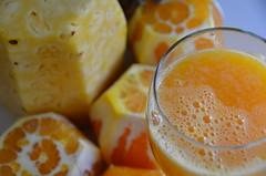 Juiced (Rob.Bertholf) Tags: orange juice fresh pineapple creativecommons organic freshsqueezed juicing