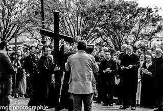Chemin de croix à Montmartre/Stations of the Cross at montmartre