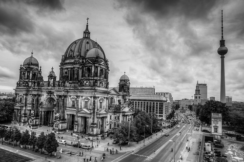 Berliner Dom and Fernsehturm