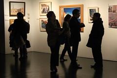 (Instituto Cervantes de Tokio) Tags: people art silhouette gallery shadows arte gente galeria exhibition sombras siluetas institutocervantes  exposicin  exhibicin