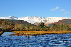 Brodick, Island of Arran scotland (Time Out Images) Tags: snow bay scotland clyde north brodick firth ayrshire