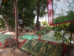 Gujarat 2014 (hunbille) Tags: india cemetery grave graveyard fort muslim mosque graves gujarat junagadh upperkot uparkot