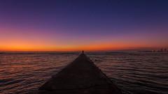 Hawaiian Sunset (shashin's photo) Tags: sunset hawaii waikiki oahu honolulu 1740 6d kuhio