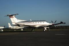 M-AMAN (IndiaEcho Photography) Tags: light canon eos airport general aircraft aviation aeroplane surrey civil pc12 maman xii airfield fairoaks chobham egtf 1000d piltus