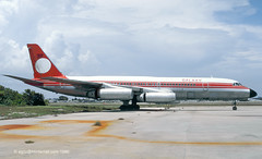 N990E 1962 build Convair 990 30A-5, scrapped in 1991 at KFLL (egcc) Tags: international galaxy fortlauderdale 16 coronado 990 fll convair christistheanswer convair990 cv990 galaxyairlines kfll n5607 n990e 301016 30a5 n5624
