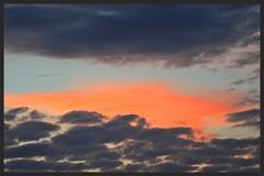 Sunset cloud West Auckland (Zelda Wynn) Tags: sunset orange nature weather clouds auckland cloudscape troposphere zeldawynnphotography weatherwatchconz