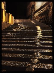 Sciacca, May 2016 (cofre.nl) Tags: italy water rain steps sicily sciacca