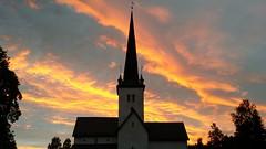 Sunset @ Ringsaker Kirke (...Ola_S...) Tags: sunset church solnedgang kirke hedmark kirkegrd ringsaker moelv ringsakerkirke