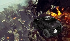MAD MAX 4*4 (Daniel V 75) Tags: wallpaper art car sport speed star photo lego 4x4 ferrari voiture creation porsche wars paysage tuning base luxe berline moc