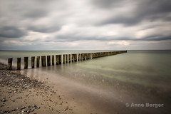 April weather (explore) (Anne.Berger) Tags: ocean longexposure beach strand meer balticsea langzeitbelichtung buhne