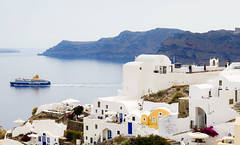 Santorini Coastline (Oia) (fotosiris) Tags: seascape landscape santorini greece coastline oia