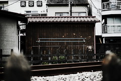 along the line (N.sino) Tags: house line  fussa     xpro1 xf35mmf14r