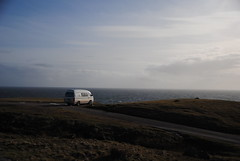 Stoer Lighthouse (What I saw...) Tags: lighthouse scotland toyota campervan stoer hiace