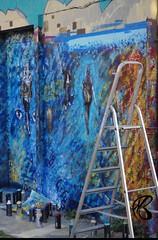 (mailyse.bellanger) Tags: art bleu larochelle graphiti dor nuances arabesques
