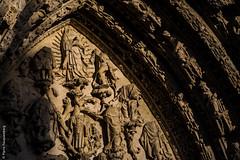Cathdrale de Rouen - Normandie (Pierre Fauquemberg) Tags: sculpture construction fance pierre religion cathdrale rouen contraste normandie glise ville faade centreville dtail vieilleville spiritualit mdival hautenormandie nikond750 pierrefauquemberg