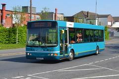 Arriva VDL SB120 2524 DK55FXJ - Widnes (dwb transport photos) Tags: bus wright cadet widnes arriva vdl 2524 dk55fxj