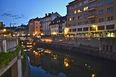 Ljubljana, Slovenia (mangaddicted) Tags: streetart art river europe slovenia oldtown ljubljanica approvatoljubljana