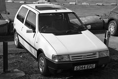 1990 Fiat Uno 1.4 Turbo i.e. (davocano) Tags: brooklands ucar autoitalia autoitalia2016 g344epg