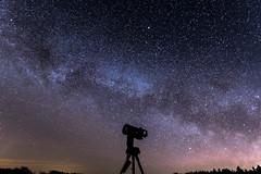 Nexstar C6 (schmittarnaud) Tags: night stars nikon astro telescope ciel schmidt nuit nocturne celestron c6 etoiles milkyway astronomie nexstar cassegrain voielactée