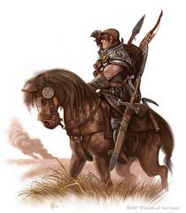 PC_20071229tumblr_n1ltmlOv6h1tte42io5_1280 (PhClement) Tags: male race fighter class equipment human mounted gender bowarrow heavyarmor