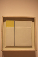 Composition with Double Line and Yellow, 1932 - Piet Mondrian (misseka) Tags: uk painting scotland edinburgh pietmondrian modernone thescottishnationalgalleryofmodernart