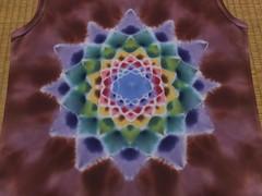 ladies tank (asiadyer) Tags: japan japanese symmetry textile sacred tiedye dye dyeing psychedelic dyed shibori psychedelica sacredgeometry sarashi japanetsy shiboripsychedelic