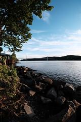 Samyang 8mm f2.8 Mid-Hudson Bridge (KaLiMaN BoKeH) Tags: bridge river chrome fujifilm hudsonriver bower fisheyelens ultrawideangle midhudsonbridge fujix mirrorless rokinon samyang8mmf28 fujixe2