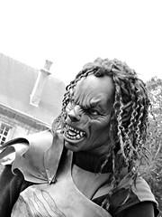 Ftes Johanniques 2016 - Reims (numend1l) Tags: portrait blackandwhite monochrome monster festival noiretblanc medieval fte reims bnw monstre dguisement peur moyenge ftesjohanniques