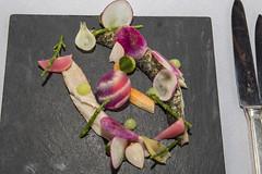 Lunch at the Havixhorst (vk2gwk - Henk T) Tags: food fish mackerel restaurant starter drenthe entree havixhorst dewijk