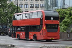 CT Plus Alexander Dennis Enviro400H City (2501 - SN16 OHP) 26 - rear-end (London Bus Breh) Tags: hctgroup ctplus alexander dennis alexanderdennis alexanderdennislimited adl alexanderdennisenviro400hcity enviro400hcity e400hcity hybrid hybridbus hybridtechnology 2501 sn16ohp 16reg london buses londonbuses bus londonbusesroute26 route26 waterloo waterloostation imax imaxroundabout tfl transportforlondon