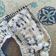 quick little beret (mamatronic) Tags: knitting handmade dk beret handknitting junkyarn iphoneography goodnightday dresdenberet