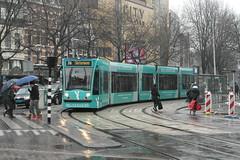 GVB 2092 Deliveroo reclame (Siemens Combino) ([Publicer Transport] Ricardo Diepgrond) Tags: amsterdam reclame leidseplein gvb combino bedrijf 2092 gemeentelijk vervoers reclametram deliveroo