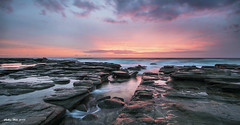 It's a beautiful morning! (Sudhir Wahi) Tags: ocean sea seascape sunrise landscape nikon australia queensland headlands select d800 pointcartwright nikon1735mmlens reallyrightstufftripod