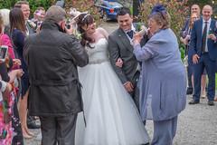 Confetti Run (Sue_Hutton) Tags: wedding summer jill marriage nana tissington georgejameshutton june2016 katrobson