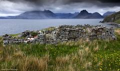 Memories at Elgol (lawrencecornell25) Tags: mountains skye landscape outdoors scotland scenery isleofskye cuillins waterscape nikond5 lochscavaig
