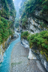 Taiwan-121116-419 (Kelly Cheng) Tags: travel color colour green tourism nature water vertical river landscape daylight colorful asia day outdoor taiwan nobody nopeople canyon colourful tarokonationalpark tarokogorge  traveldestinations  northeastasia