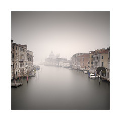Una Vista Dal Ponte (Rohan Reilly Photography) Tags: venice venezia veneto italia fog colour square longexposure workshop sony 35mm ts accademia santa maria della salute