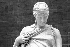 2013_edition_04_22 (Ilya Gulyaev) Tags: nyc travel blackandwhite newyork art classic statue museum greek marble met metropolitanmuseum