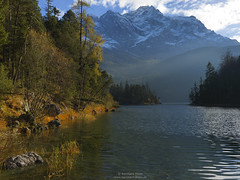 Autumn at Eibsee N3 (Bernhard_Thum) Tags: alps hasselblad legacy nationalgeographic eibsee zugspitze wetterstein thum rockpaper elitephotography landscapesdreams capturenature daarklands bernhardthum hc3550ii h5d60