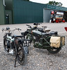 Triumph SD 1923 and BSA M3 (Beth Hartle Photographs2013) Tags: cars 1940 historic triumph athome motorbikes reenactment aircrafts bsa shuttleworthcollection historicaircraft historicbikes bsam20 bsam3 triumphsd1923