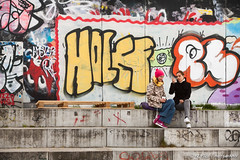 Berliner Mauer - No man's land (FJ pics / Photography) Tags: travel berlin roadtrip hauptbahnhof reichstag potsdamerplatz alexanderplatz fernsehturm checkpointcharlie eastsidegallery gedaechtniskirche berlinerdom europacenter juedischesmuseum canoneos50d sigma2470mm128exdg avril2016 denkmalandenermodetenjudeneuropas