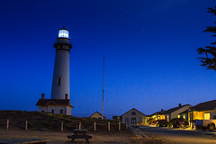 Pigeon Point Lighthouse @ Blue hour (Calum Chueh) Tags: sunset lighthouse pigeonpoint